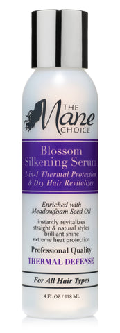 Blossom Silkening Serum  2-in-1 Thermal Protection & Dry Hair Revitalizer