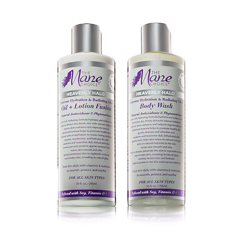 Heavenly Halo Body Wash & Oil + Lotion Fusion SET