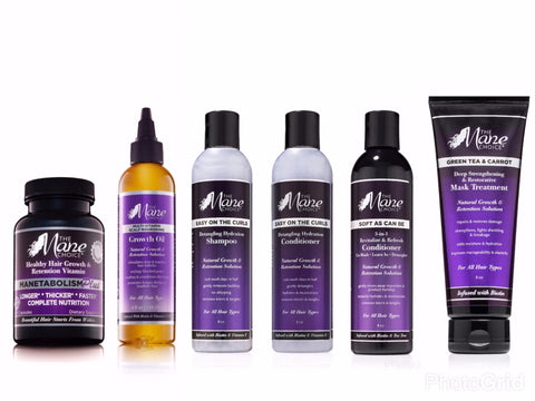 Complete Healthy Hair Regimen 6 Pack