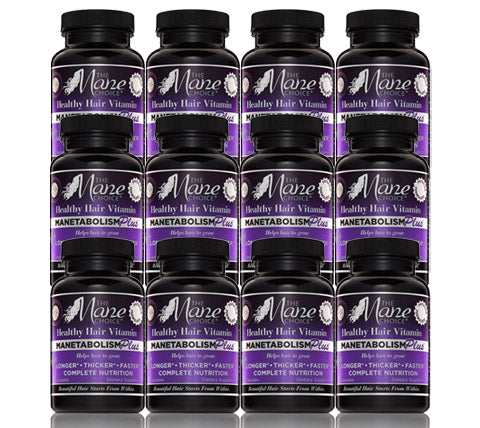 Manetabolism Plus Vitamins - 12 Month Supply (GMO FREE)