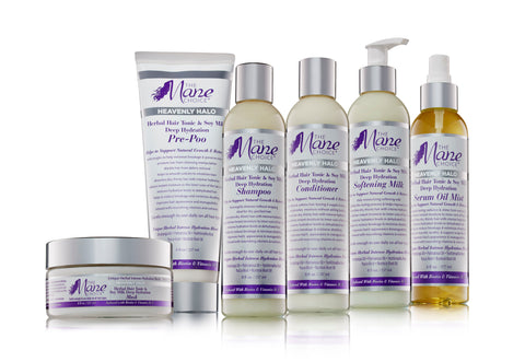 Heavenly Halo Herbal Hair Tonic & Soy Milk Deep Hydration Collection