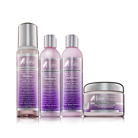 Pink Lemonade & Coconut Super Anti-Oxidant & Texture Beautifier Collection