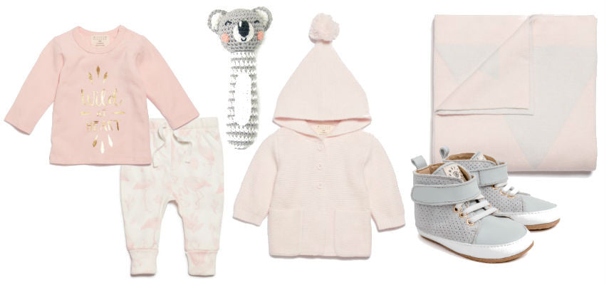 Baby Girl baby shower gift ideas love by five