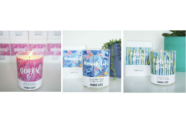 Frankie Gusti Mother's Day candles Love by Five