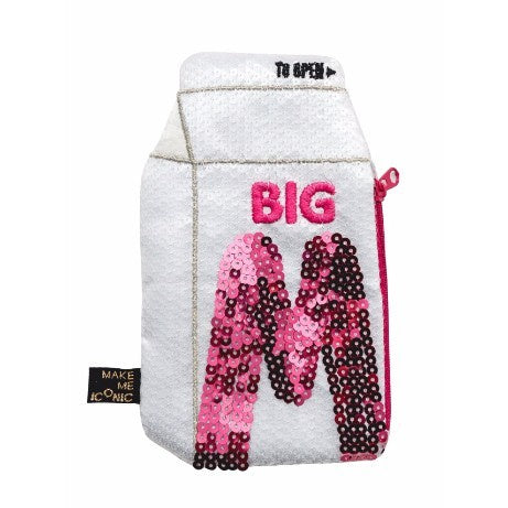 Sequin Purse - Big M