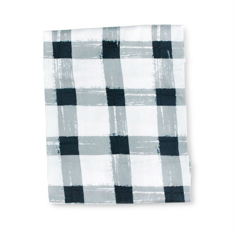 Sack Me change table covers/bassinet sheet Grey Gingham