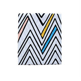 Sack Me change table covers/bassinet sheet zig zag day