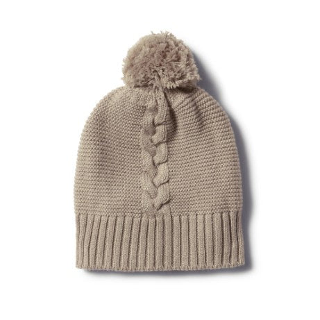 Cable Knit Hat - Birch