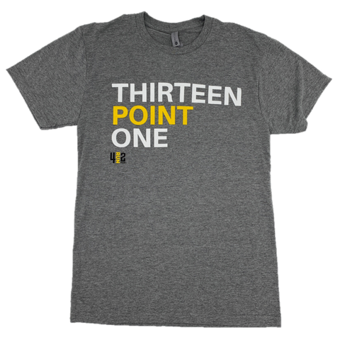 THIRTEEN POINT ONE TEE