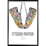 2015 DICK'S Sporting Goods Pittsburgh Marathon Poster