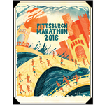 2016 Official Pittsburgh Marathon Poster