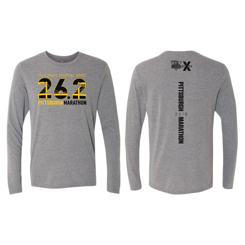 2018 26.2 Men's Long Sleeve