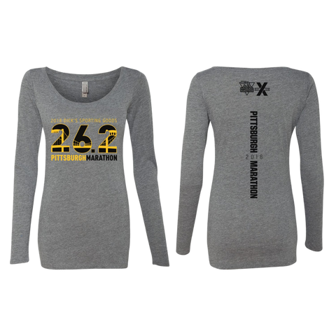 2018 26.2 Women's Long Sleeve