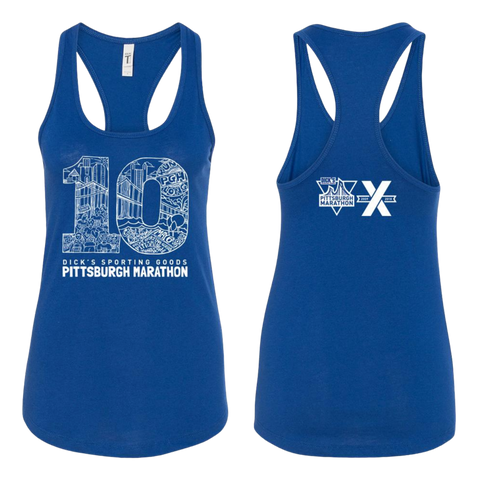 "2018 Women's ""10"" Graphic Tank"