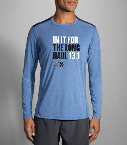 "Men's 13.1 ""In It For The Long Haul"" In Training Long Sleeve - DICK'S Sporting Good's Pittsburgh Marathon"
