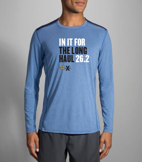 "Men's 26.2 ""In It For The Long Haul"" In Training Long Sleeve - DICK'S Sporting Good's Pittsburgh Marathon"