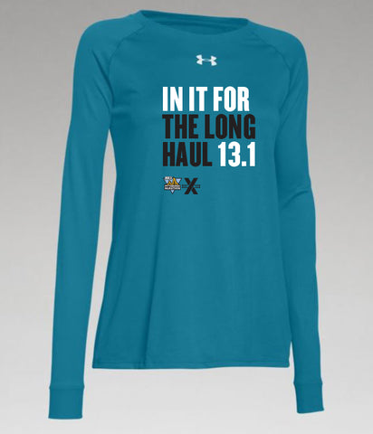 "Women's 13.1 ""In It For The Long Haul"" In Training Long Sleeve - DICK'S Sporting Goods Pittsburgh Marathon"