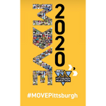 Limited Edition 2020 DICK'S Sporting Goods Pittsburgh Marathon MOVE Poster