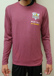 Men's 26.2 In-Training: Brooks Distance Long Sleeve (Burgundy)
