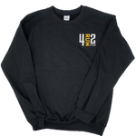 4RUN2 Crew Neck - Black