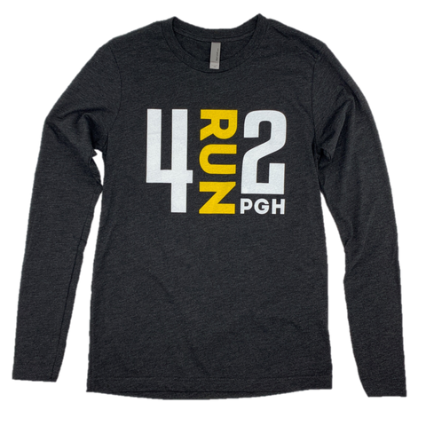 4RUN2 Charcoal Long Sleeve