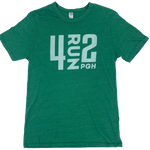 4RUN2 Green Soft Tee