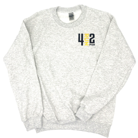 4RUN2 Crew Neck - Grey