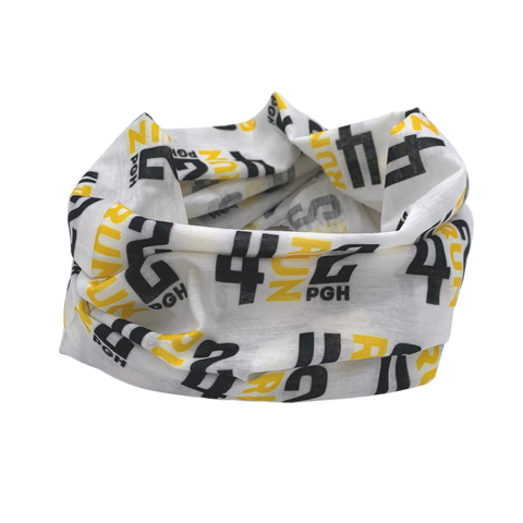 4RUN2 Head Wrap - White