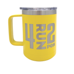 4RUN2 Travel Coffee Tumbler - Yellow