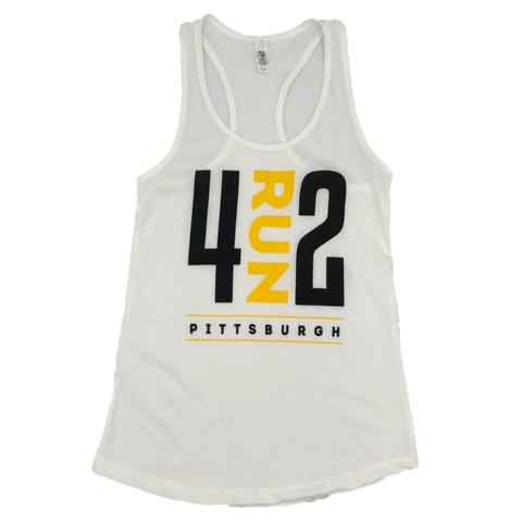 4RUN2 Women's Tank - White