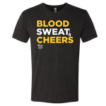 Blood, Sweat and Cheers Tee