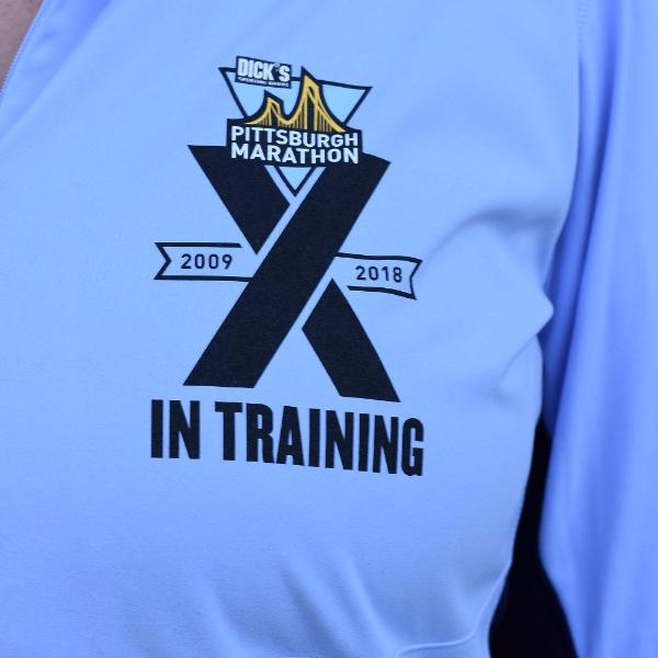 "Women's ""10 Year"" In Training 1/2 Zip - DICK'S Sporting Goods Pittsburgh Marathon"