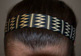 Black and Gold Runner of STEEL Head Band