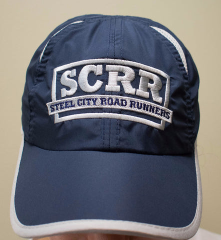 SCRR Running Hat - Blue and Gray