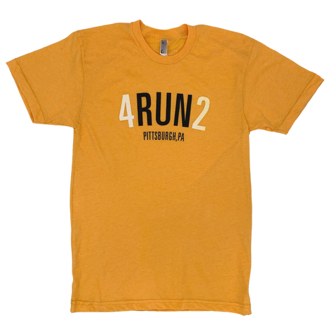 4RUN2 + Fresh Factory Yellow Tee