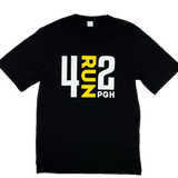 Men's 4RUN2 Black Tech Tee