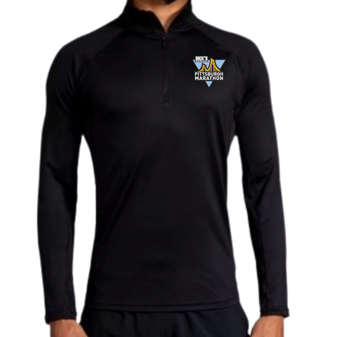 Men's In-Training: Brooks Dash Quarter Zip (Black)