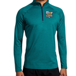 Men's In-Training: Brooks Dash Quarter Zip (Teal)