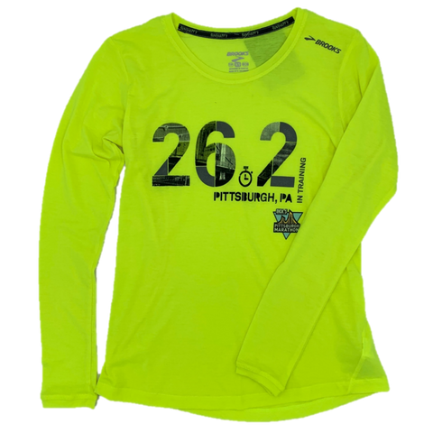 Women's Neon 26.2 In Training Long Sleeve
