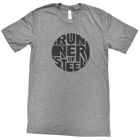 Men's Runner of Steel Soft Tee - Grey