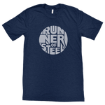 Men's Runner of Steel Soft Tee - Navy