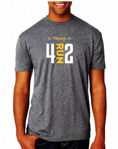 4RUN2 Grey Soft Tee