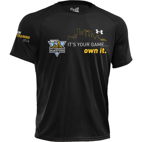 Men's Own It Training Short Sleeve - 2016 DICK'S Sporting Goods Pittsburgh Marathon
