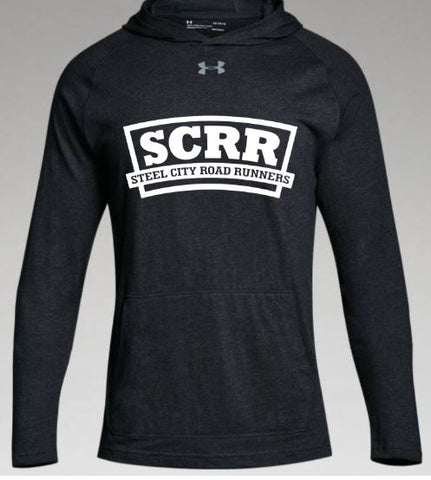 SCRR Men's Black Lightweight Sweatshirt
