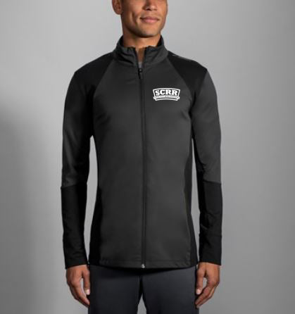 SCRR Men's Black Full Zip