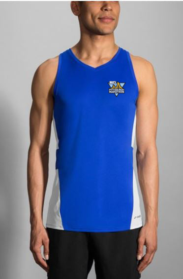 DICK'S Sporting Goods Pittsburgh Marathon Royal Singlet by Brooks
