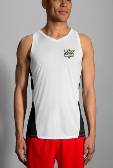 DICK'S Sporting Goods Pittsburgh Marathon White Singlet by Brooks