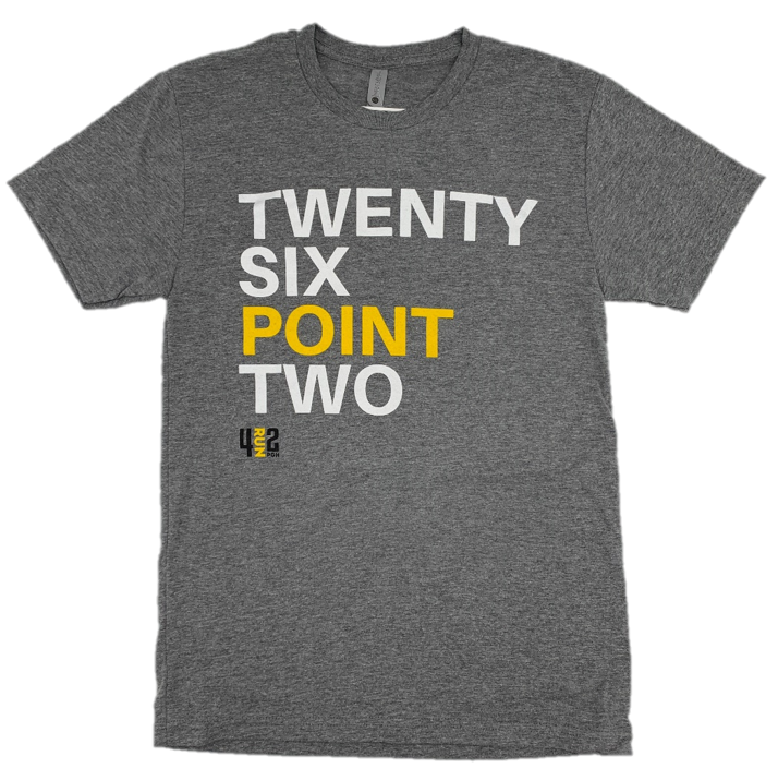 TWENTY SIX POINT TWO TEE