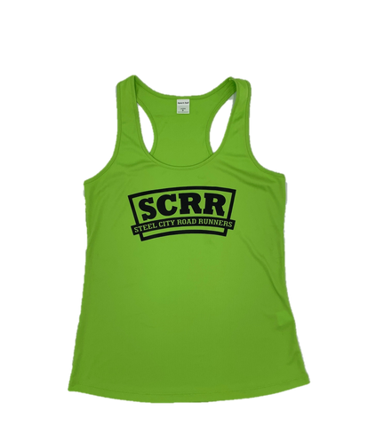SCRR Women's Lime Tech Tank