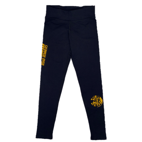 Steel City Road Runners Black Legging